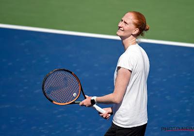 Alison Van Uytvanck meteen eruit in eerste ronde van toernooi van Belgrado