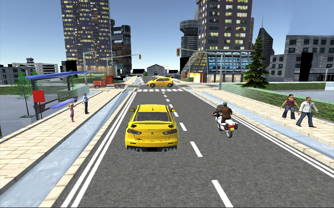 Big-City-Taxi-Drive-Simulation 17