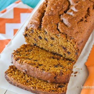 Good Old Fashioned Pumpkin Bread.
