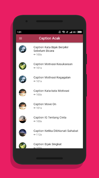 Caption Ig Lengkap Kekinian Android تطبيقات Appagg