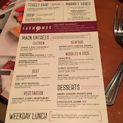 Dedicated gluten free menu