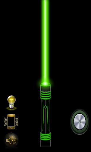 レーザー閃光