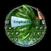 Tropical Palm GO Keyboard