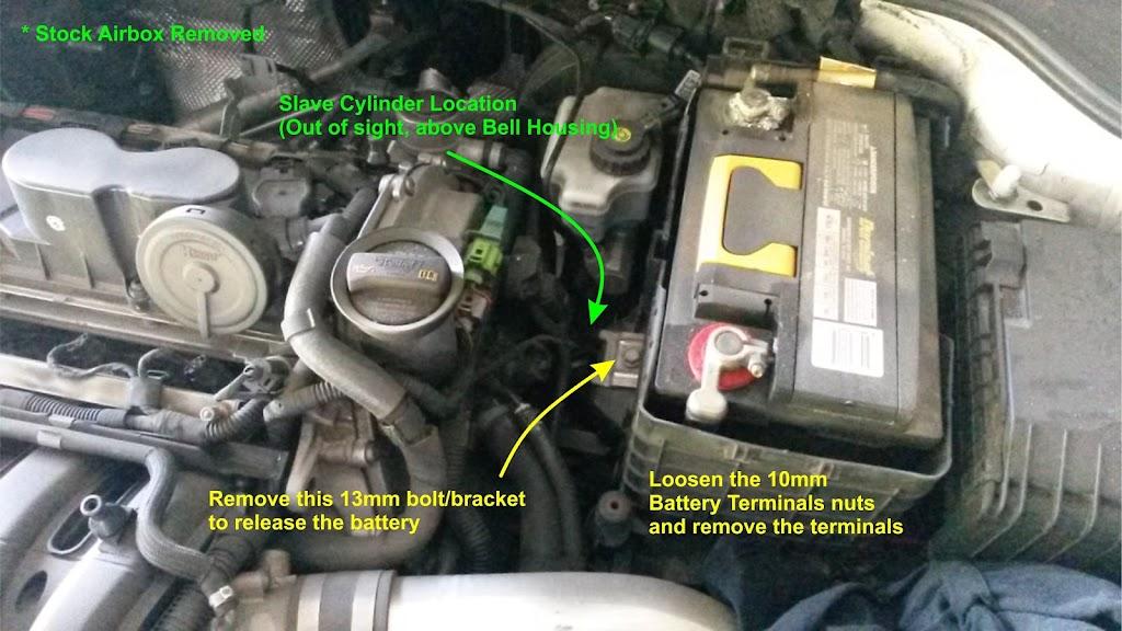 DIY: 2 5L MKV - Slave Cylinder Replacement (Clutch
