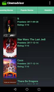 Cinemadvisor - náhled