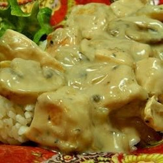 Creamy Chicken Marsala.