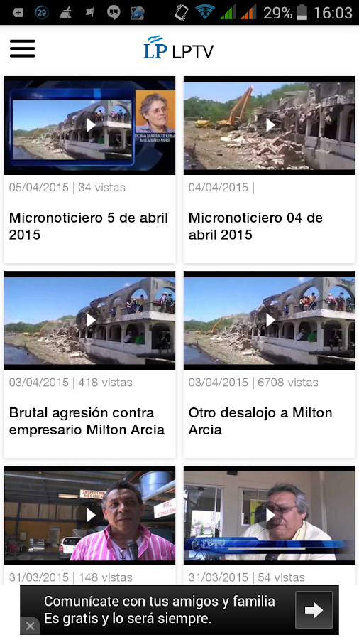 LA PRENSA- screenshot