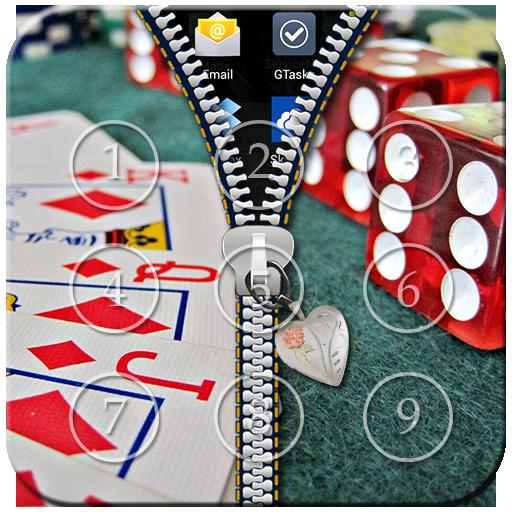 Poker Zipper Lock