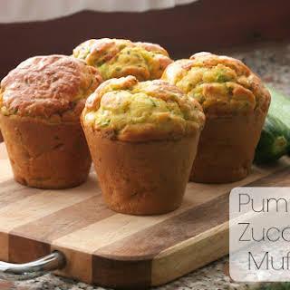 Pumpkin Zucchini Muffins.