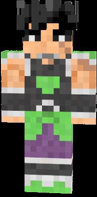 Broly Nova Skin - Skins para minecraft pe broly