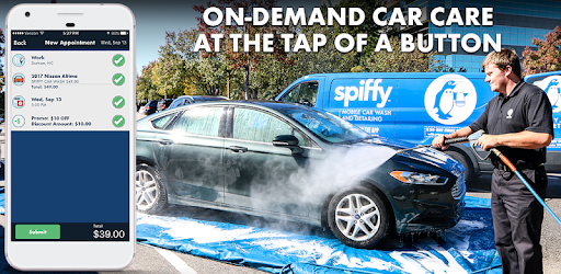 Spiffy On-Demand Car Care - Apps on Google Play