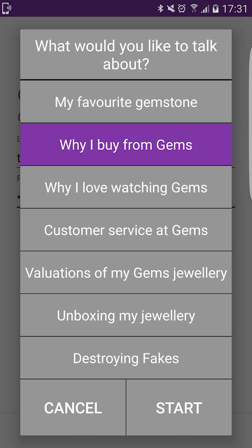 Gemporia Viewers' Voice- screenshot