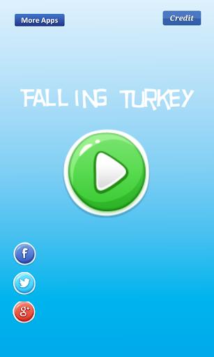 Falling Turkey