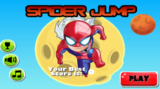スパイダー少年ジャンプ