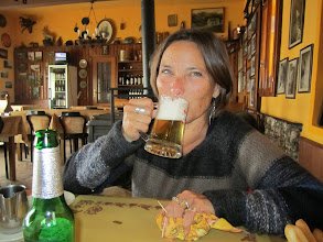 Photo: Colleen found a beer at 1980 meters at Malonotte Refugio