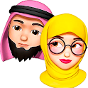 Memoji Hijab Islamic Muslim Stickers for WhatsApp icon
