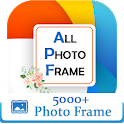 All Photo Frames:All in one photo frame editor icon