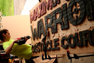 Photo: Custom Signs for Maxim Magazine in new York City. For Wood Sign Prices Please Click Here... http://nicecarvings.com/