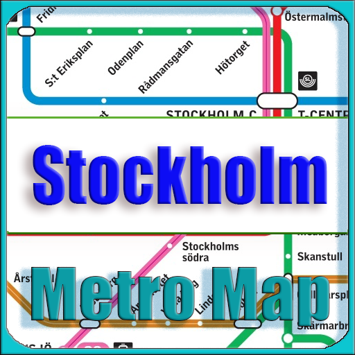 Sweden Subway Map.Stockholm Metro Map Offline Apps Bei Google Play