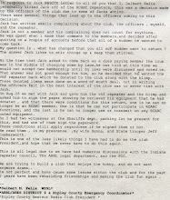 Photo: WY9L's Bull Shit Letter What goes around comes around. This is only one side of the story.
