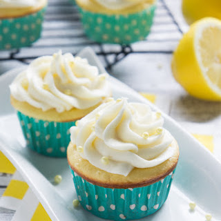 Lemon Burst Cupcakes.
