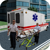 Ambulance Rescue Parking Sim
