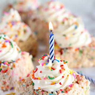 Birthday Sprinkle Rice Krispies Treats