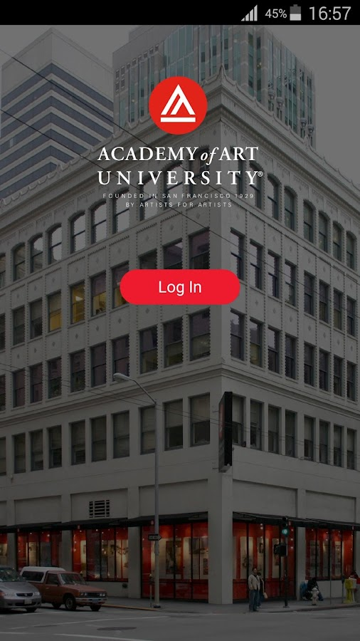Academy of Art Student App- screenshot