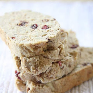 Cranberry Almond Whole Wheat Biscotti