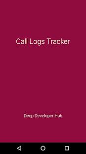 Call Log History and Backup - náhled