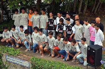Photo: A equipa de iniciados