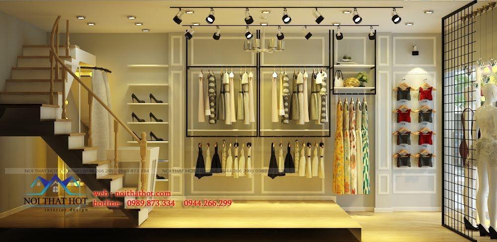 thiết kế shop thời trang nữ nhỏ 4
