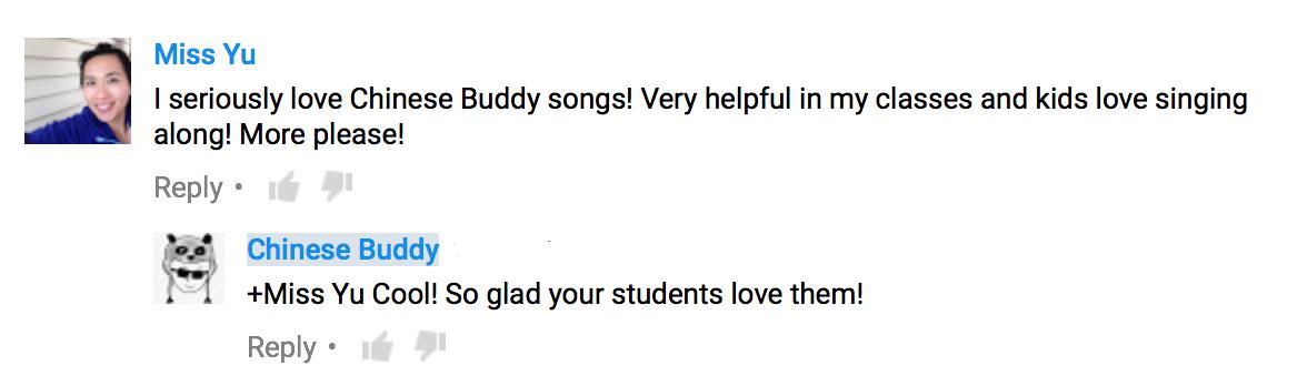 Chinese Buddy Testimony 1