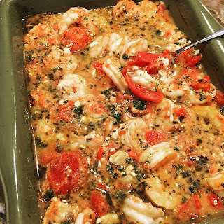 Baked Mediterranean Seafood Recipes.