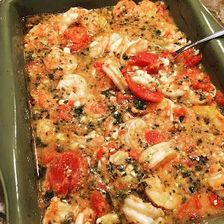 Baked Mediterranean Seafood Recipes.