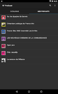 Radio France Podcast- screenshot thumbnail