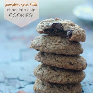Pumpkin Spice Latte Chocolate Chip Cookies (gluten-free)