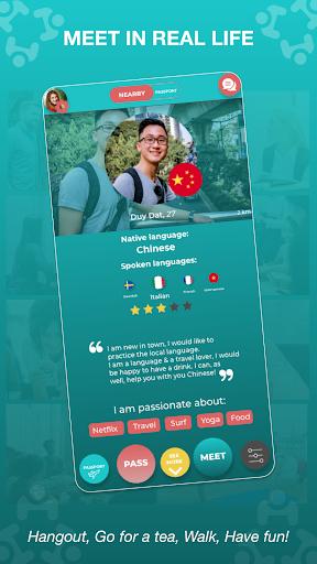 Match - Languages - Meetings - Friends: Leeve 3.4.0 screenshots 4