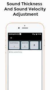 Text To Speech PRO 1.4 APK + Mod (Unlimited money) إلى عن على ذكري المظهر