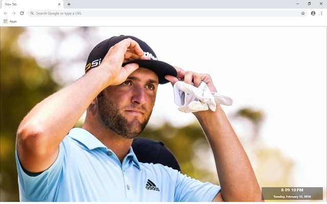 Jon Rahm New Tab & Wallpapers Collection