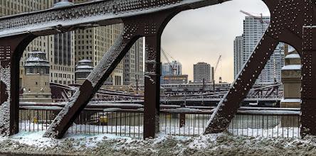 Photo: Clark Street Bridge, Chicago. #chicago #bridge #urbanphotography