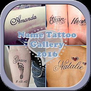 Name Tattoo Gallery 2016