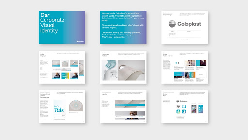 Coloplast Visual Identity Preview