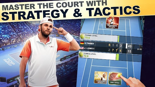 TOP SEED Tennis Sports Management Simulation Game 2.45.3 Mod (Unlimited Gold) 3