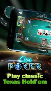 Live Poker Tables–Texas holdem and Omaha 9