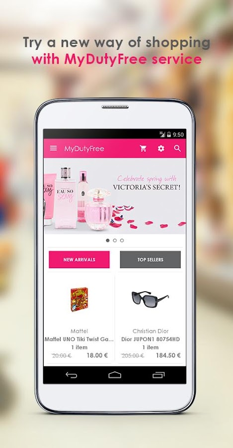 MyDutyFree- screenshot