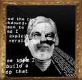 Julian Assange - Decentral Eyes by Coldie