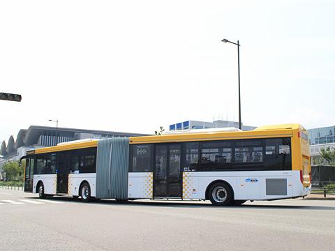西日本鉄道 福岡都心連節バス 0101 博多港国際ターミナルにて その2