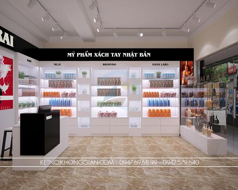 thiết kế cửa hàng tạp hóa cao cấp