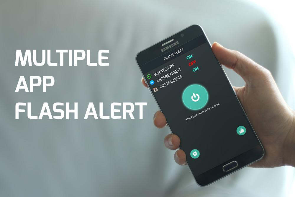 Color Flash Light Alerts Call!- screenshot